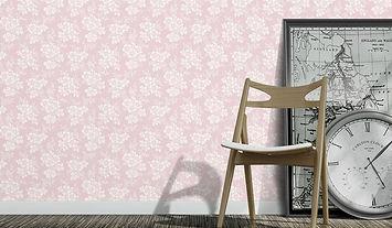 עיצוב קיר עם טפט