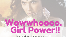 Wowwhoooo!!! GIRL POWER!!