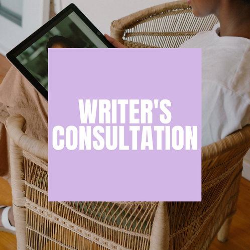 Writer's Consultation