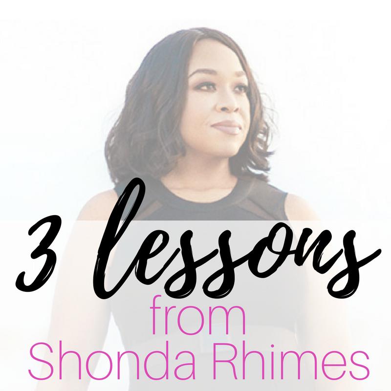 Dionda Fugitt 3 Lessons From Shonda Rhimes