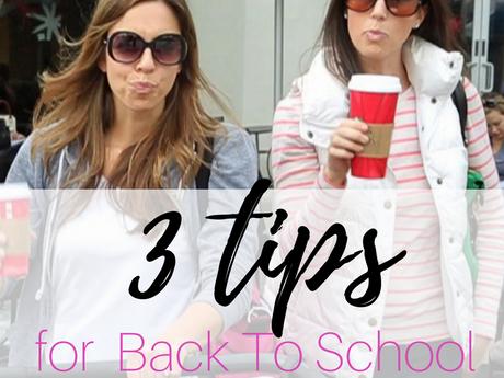 3 Tips for Back To School Prepping +BONUS!