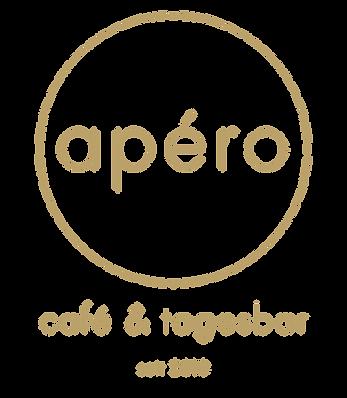 Logo apéro - café & tagesbar seit 2010