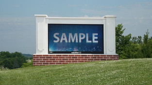 Outdoor LED Sign DEMO Special Save 50%!