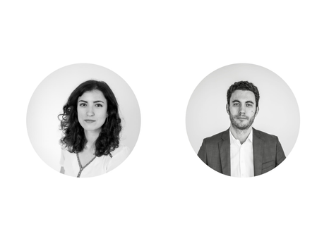 Helen de Larrinaga and Romain Pieri, new Sygna partners