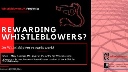Virtual roundtable event:  Do Whistleblower rewards work?