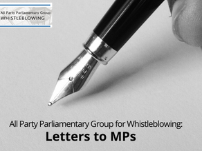 APPG's Chair, Mary Robinson MP, writes to Health and Social Care Secretary, Matt Hancock
