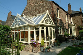 UPVC Conservatory Coating, Coloured Conservatory