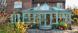 Sprayed UPVC Conservatory, Conservatory Colouring