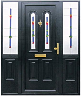 Black Upvc Sprayed Door.jpg 2014-12-1-20:15:32