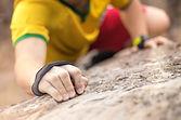 Staying warm rockclimbing