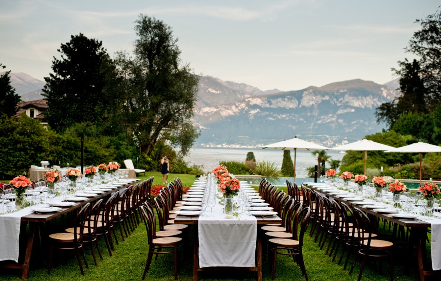 Villa Wedding, Italy, Italian Lace E
