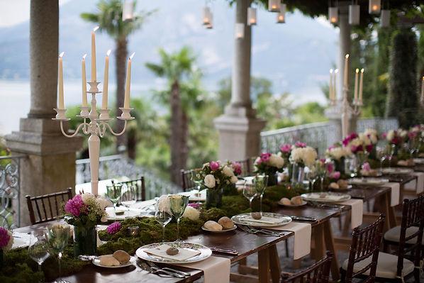 talian Lace Events, Lake Como Wedding