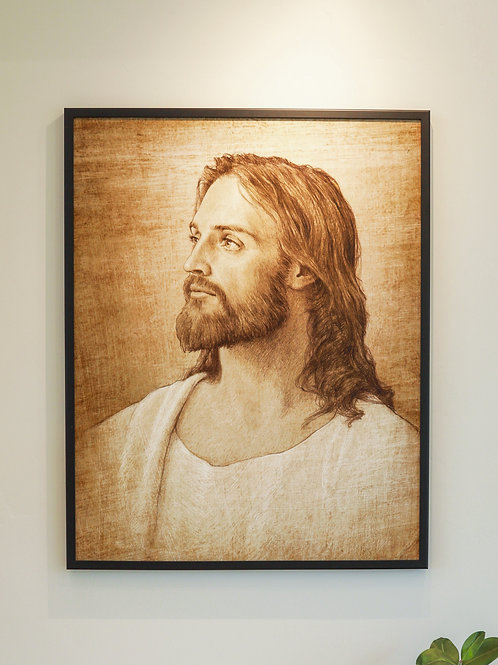 "Christ Print 1"" Frame"