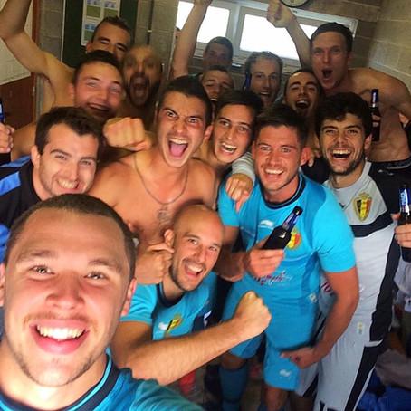 K.V. Zuun vloert titelkandidaat FC Galmaarden