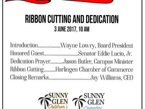 Tomorrow - Ribbon Cutting!