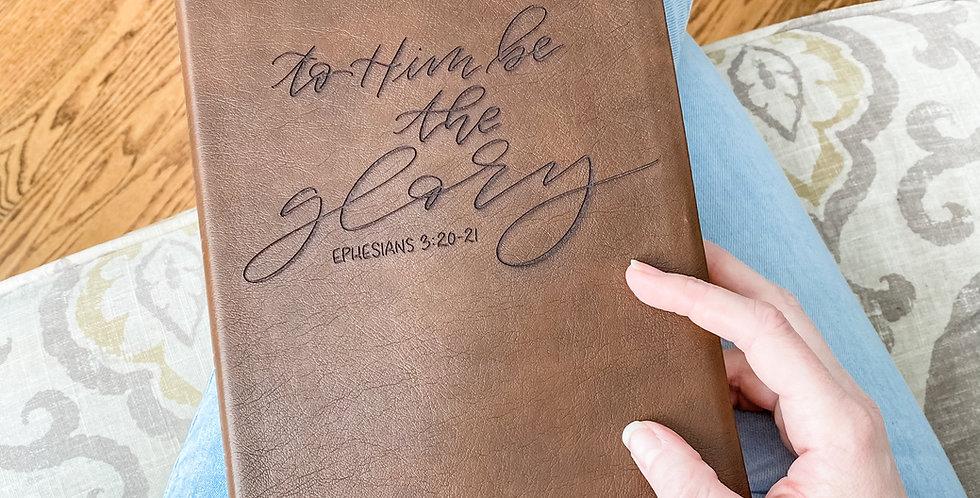 Custom Engraved Bible (NASB - Brown)