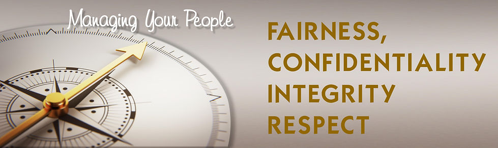 Fairness Confidentiality Ingrity Respect
