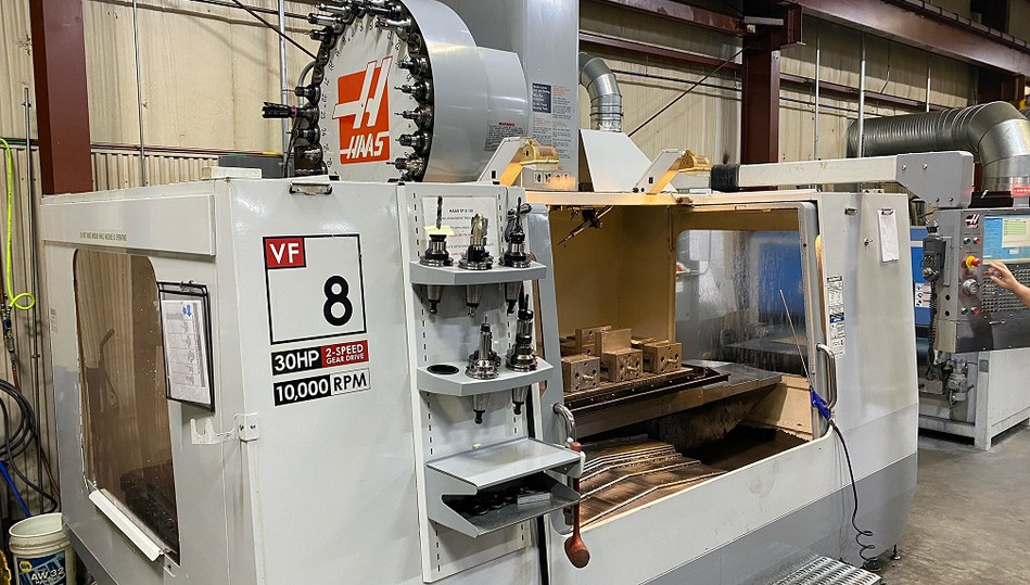 2007 Haas VF8/50 CNC Vertical Machining Center