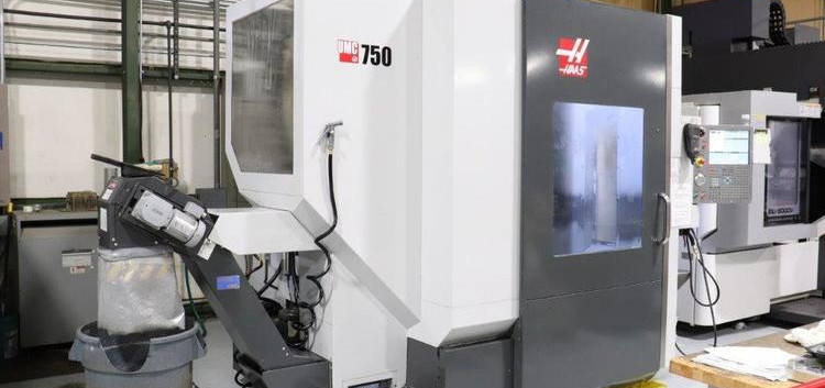 Haas UMC 750 CNC Universal 5 Axis Machining Center