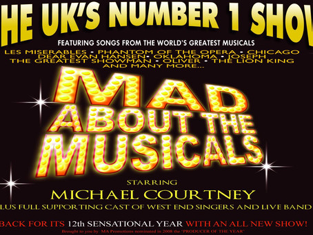 Mad About The Musicals - 2019 UK Tour