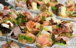 frische und nachhaltige Snackplatten zur Party
