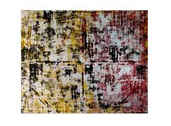 """Aleph / 48"""" x 60"""" Acrylic, Canvas. 1"""