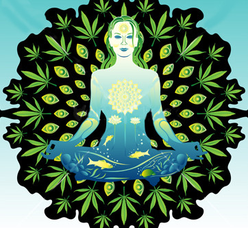 MARIJUANA & MEDITATION TOGETHER