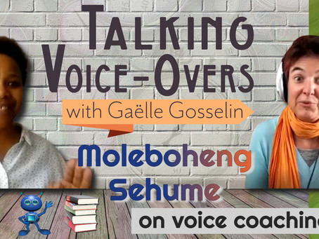 Moleboheng Sehume on voice coaching
