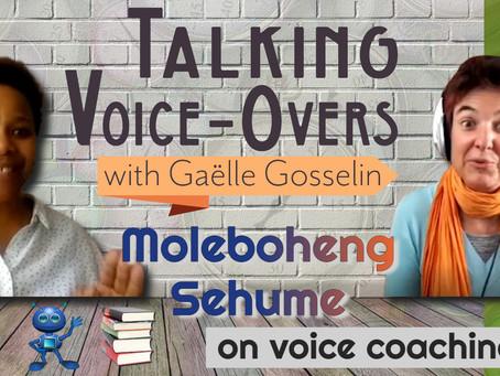 Moleboheng Sehume on voice coaching