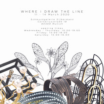WHERE I DRAW THE LINE_Munich Jewellery Week 2020 Poster