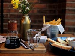 Food at The Cabin Coffee Bar Magelang