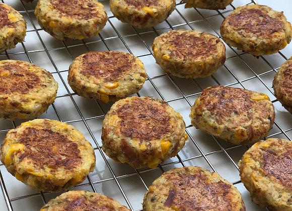 Tuna, Sweetcorn & Potato Cakes (10)