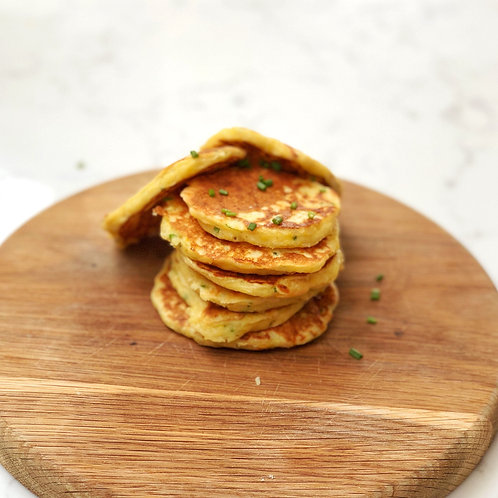 Corn, Chive & Cheddar Drop Scones (10)