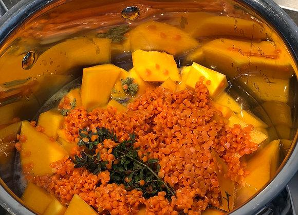 Lentil & Butternut Squash