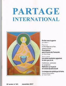 Abonnement à la revue Partage International