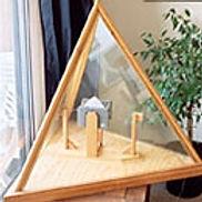 Le Tetrahèdre utilisé durant une méditation