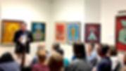 Présentation et description des peintures de Benjamin Creme