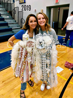 texas homecoming mum triple homecoming m