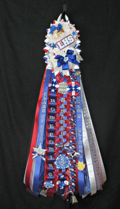Leander High School Homecoming Mum