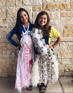 Lago Vista High School Homecoming Mums