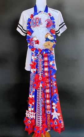 Leander homecoming mum