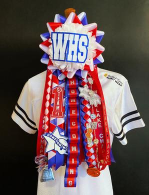 Westlake homecoming garter