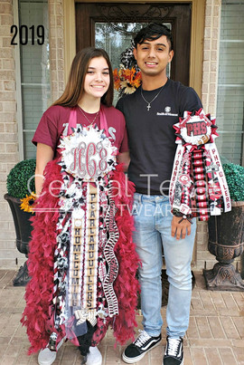 pearland high school mum and garter.jpg