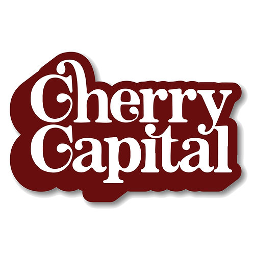 Cherry Capital Sticker
