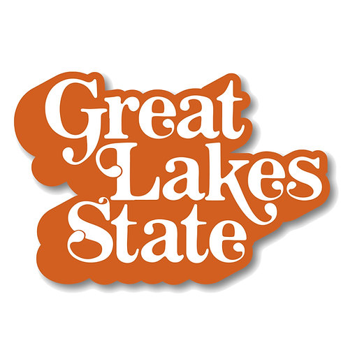 Great Lakes State Sticker