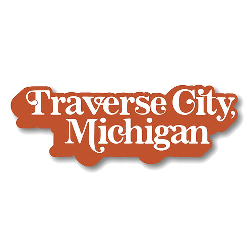Traverse City, Michigan Sticker