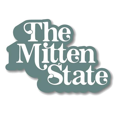 The Mitten State Sticker