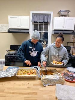 Volunteering at Nights of Hospitality