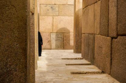 Beneath the Sphynx, Egypt