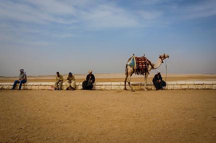 Giza Pyramid Complex, Egypt